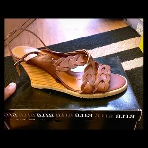 Ana name brand- Women's wedges